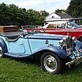 MG TD roadster 1952 Baden Baden (1)