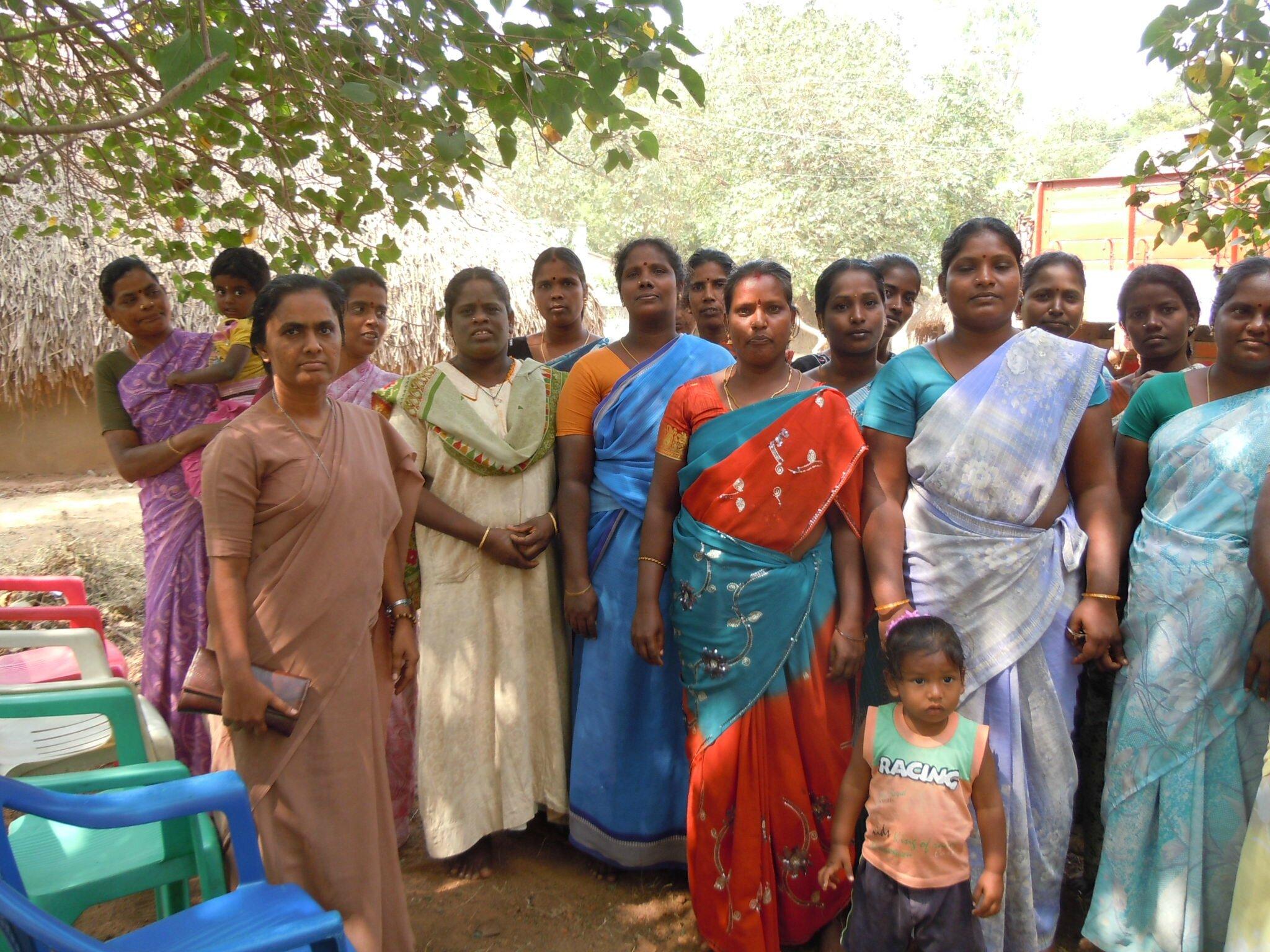 Villupuram - Self Help Group de femmes visité pour micro crédit