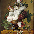 Still-life by jan frans van dael (1764-1840), at blickling hall, norfolk