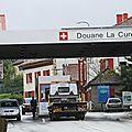Nouvelle action des frontaliers aux douanes suisses