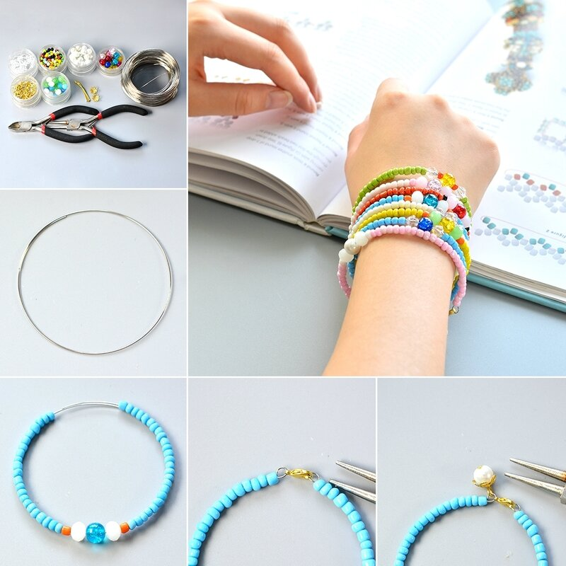 1080-Easy-Pandahall-Tutorial---How-to-Make-Multiple-Seed-Bead-Bracelets-in-an-Easy-Way