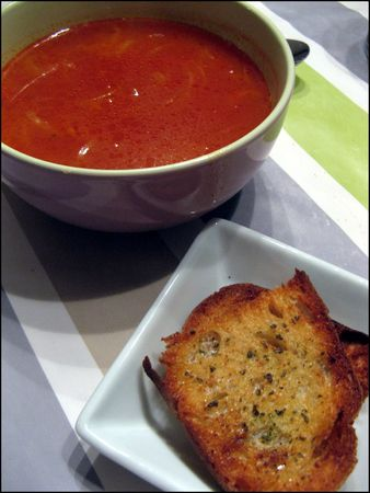 soupe  la tomate