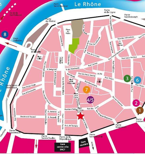 plan cul region Avignon