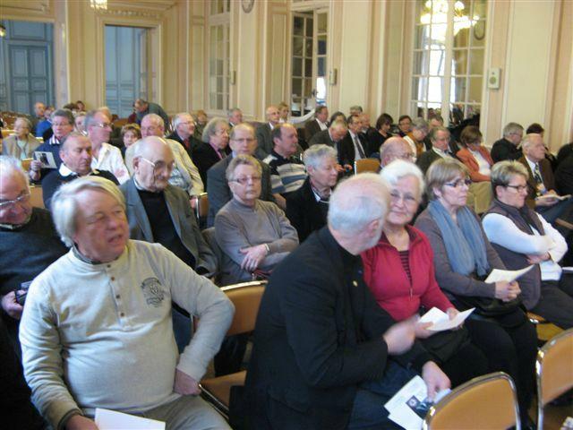 Le public est venu nombreux (env. 120 personnes).