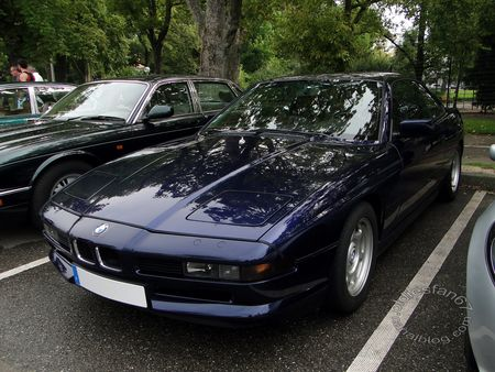 bmw 850i e31 coupe 1989 1999 rencard de haguenau 1