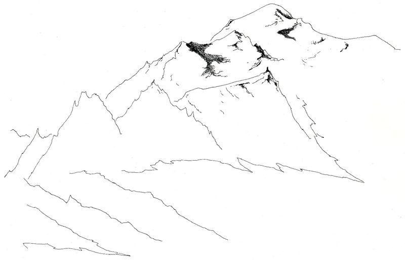 Quelques lignes pour évoquer le Mont Blanc