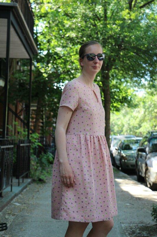 robe zélie de coté