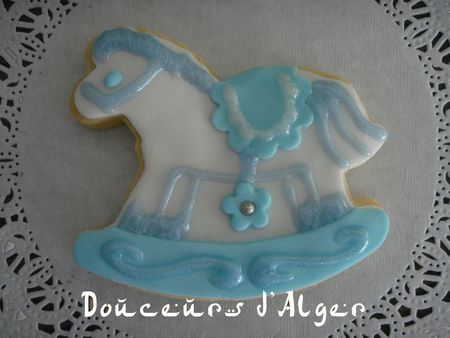 biscuit cheval à bascule