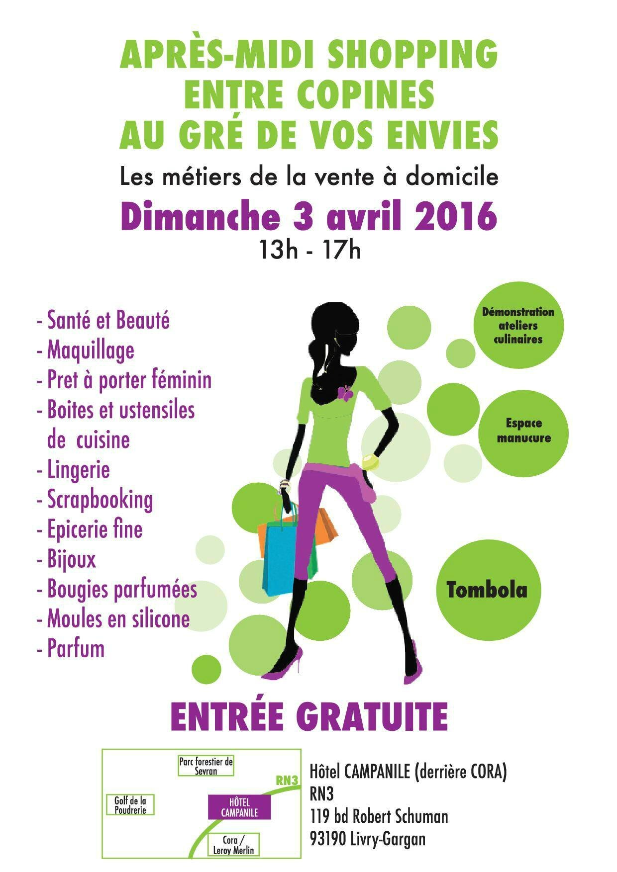 Salon vdi livry gargan le 3 avril 2016 stampinharmony for Salon vdi