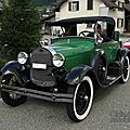 Ford model a roadster-1929