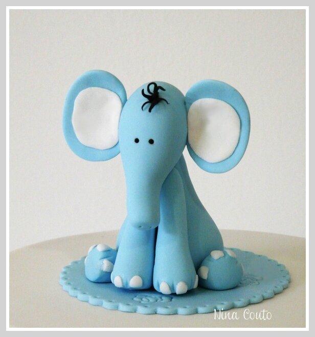 Bien-aimé modelage pate a sucre elephant 2 nimes - Photo de Modelages en  YD59