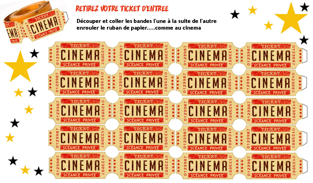 exceptionnel carte invitation anniversaire theme cinema a imprimer ar94 montrealeast. Black Bedroom Furniture Sets. Home Design Ideas