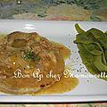 Tendrons de veau aux olives au curcuma et cocos plats espagnols et préparation pour la course de la route du rhum