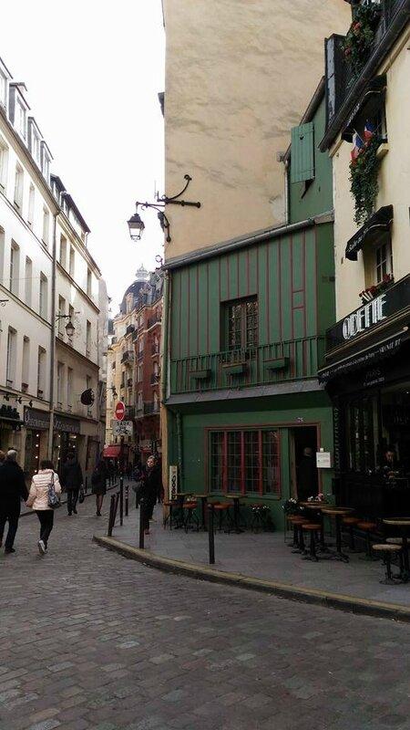 une rue du 5 ème