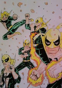 Iron Fist couleurs
