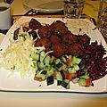 Les falafels comme