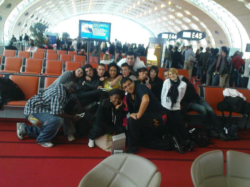 Samedi 25 octobre - Aéroport de Roissy