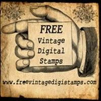 Free Vintatge Digital Stamps