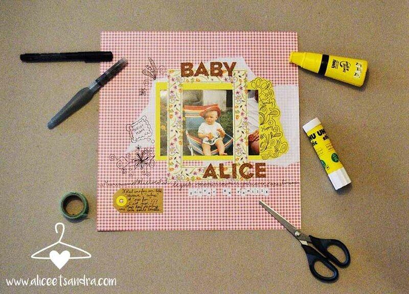 scrapbooking-bébé-page-entière-blog-alice-sandra