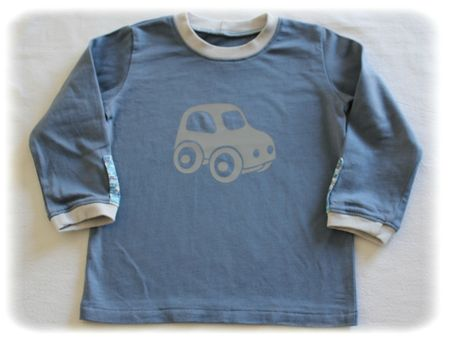 Ensemble voiture tee-shirt 1