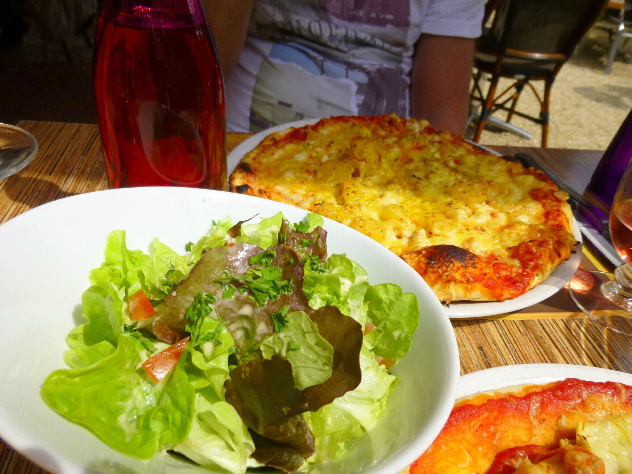 Pizza Vendôme, 20 juillet 2014, avant ... le 21 !