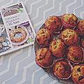 Lecture gourmande {gâteaux et douceurs à ig bas} {muffins façon gâteau au yaourt}