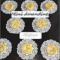 Mini amandines (sans pâte)