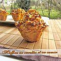 Muffins carotte et cumin
