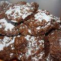 Chocolate crinckles, les petits gâteaux au chocolat au top pour le goûter et petite musique du moment !