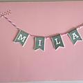 Enveloppe de la carte de naissance de Mila (collègue de Rémy) - Mai 2016