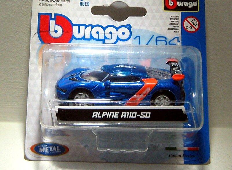 Alpine A110-50 Bburago