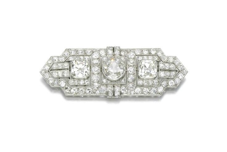Diamond brooch, Boucheron, circa 1930