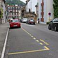 Rue de vittel : les places de stationnement provisoire sont supprimées
