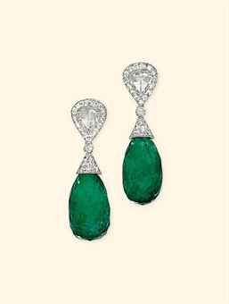 a_pair_of_emerald_and_diamond_ear_pendants_d5388409h
