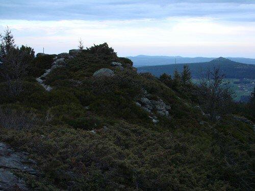2008 04 27 Paysage vu depuis le sommet de la montagne du Meygal