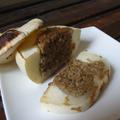 Pâtisson et aubergine