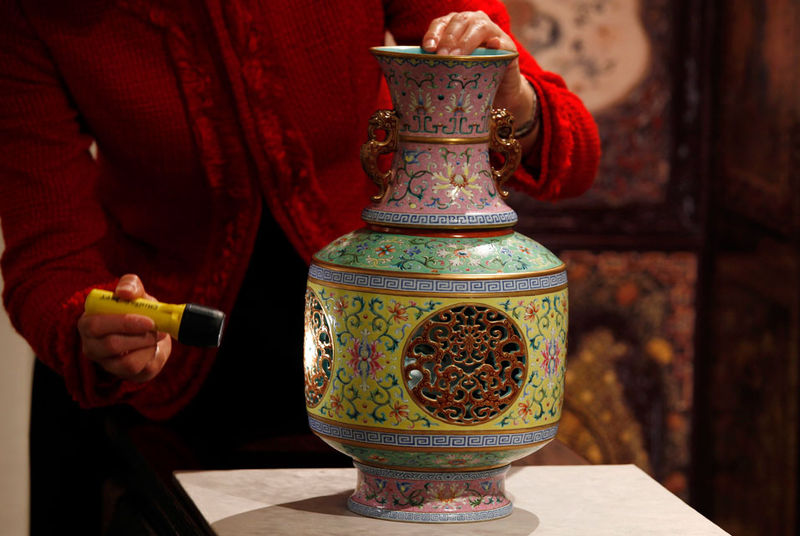 Christie S Chinese Imperial Ceramics Amp Works Of Art Sales Valued At Close To Hk 1 Billion