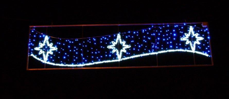 Illuminations de Noël à Trans-en-Provence