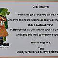 Virus informatique irlandais