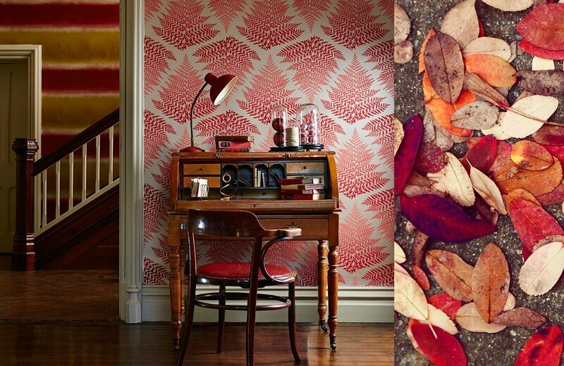7-harlequin-callista-filix-wallpaper-leaves-autumn-red-orage-lady-ferns-studio-desk