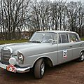 MERCEDES 220 SE W111 berline Bitche (1)
