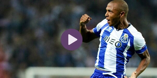 but yacine ibrahimi lors Porto Leicester city video resume