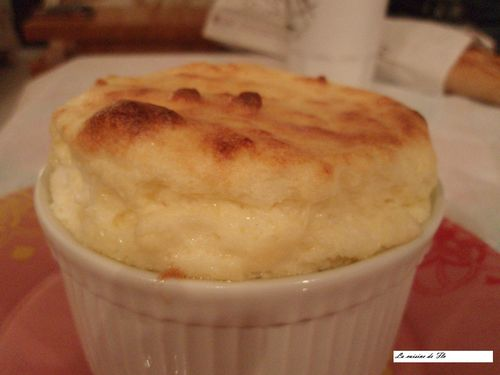 soufflé frormage