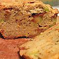 Cake salé olives/tomates séchées (vegan/sans lait/sans oeuf)