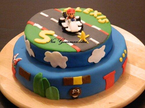 Préférence Gâteau pate à sucre mario ! - Nos Gourmandises RT53