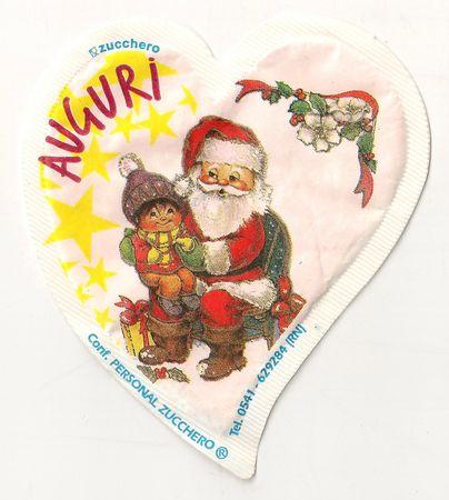 Emballage de sucre Père-Noël 10