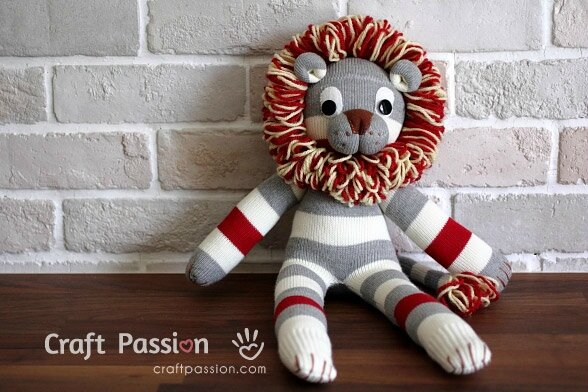 sock-lion-tutorial