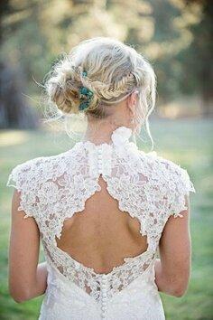 свадебные платья кружевное фото