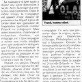 Franck - les arts sauts (article midi libre)