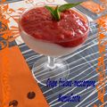 coupe fraises mascarpone